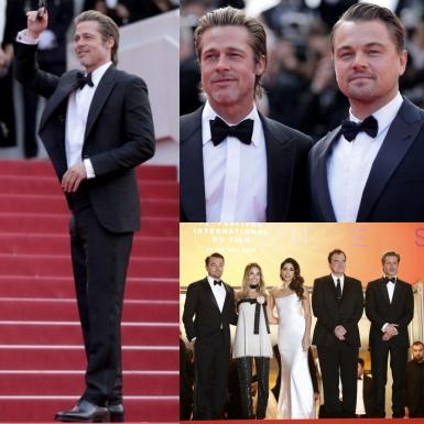 """""""Đứng hình"""" trước vẻ bảnh bao, phong độ của Brad Pitt ở tuổi 55 trên thảm đỏ LHP Cannes"""