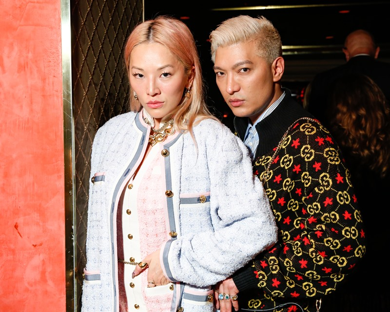 châu bùi, son gucci, new york, bryanboy, susie buble, alessandro michele, jared leto