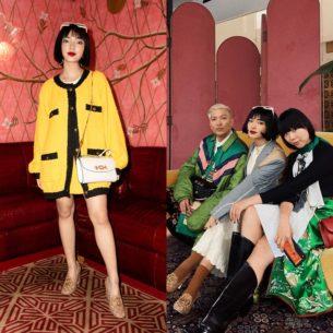 Châu Bùi hội ngộ với những fashionista đình đám Bryanboy, Susie Bubble tại event của Gucci ở New York