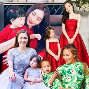 """Ngất ngây với loạt đồ đôi """"mẹ nào con nấy"""" của sao Việt và mỹ nhân thế giới"""