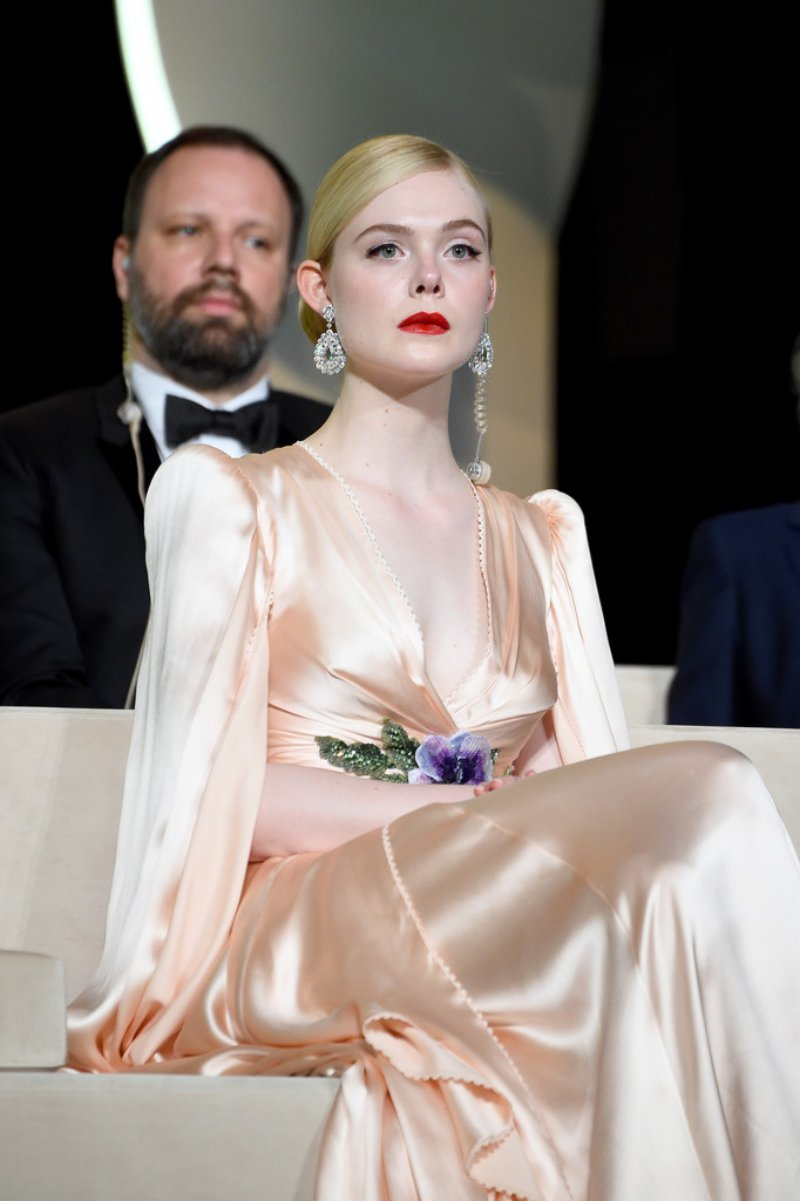 elle fanning, lhp cannes, gucci, valentino, dior, haute couture