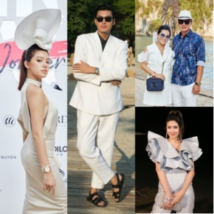 """Jolie Nguyễn nổi bật với chiếc mũ cầu kỳ của NTK Nguyễn Tiến Truyển trước giờ G show """"Fashion Voyage 2: Lost in Wonder"""""""
