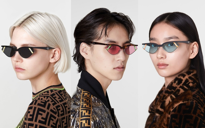 fendi, gentle monster, gentle fendi, kính mắt, hè 2019