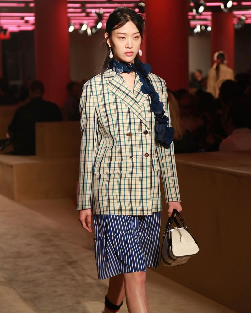 song hye kyo, prada, new york, resort 2020