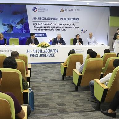 Bệnh viện Đông Nam Á đầu tiên hợp tác cùng Johns Hopkins Medicine International
