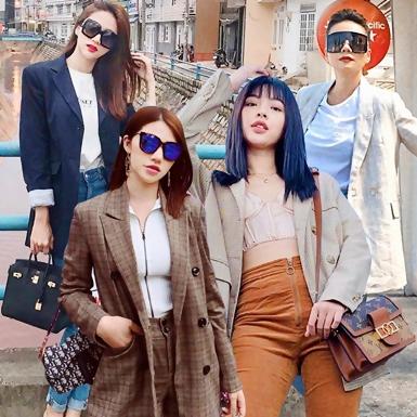 """Street style tràn ngập blazer của sao, Thanh Hằng, Hương Giang mix đồ đơn giản mà """"chất"""""""