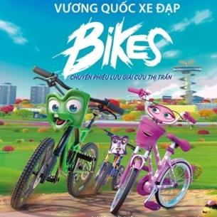 """Khám phá thế giới kỳ thú của những chiếc xe đạp cùng """"Bikes – Vương quốc xe đạp"""""""