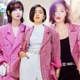 """""""Đụng hàng"""" áo khoác Chanel hơn 150 triệu, Châu Bùi sang chảnh lấn át Liu Wen, Victoria Song"""