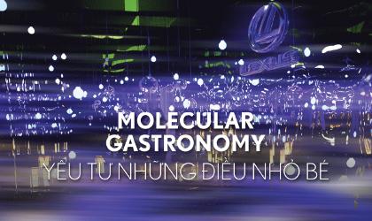 Lexus Molecular Gastronomy: Yêu từ những điều nhỏ bé