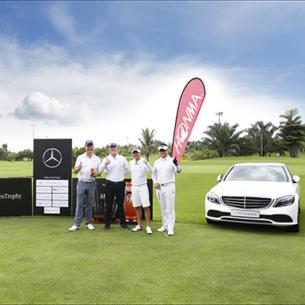 Giải đấu golf MercedesTrophy 2019 với tổng giải thưởng gần 30 tỷ đồng