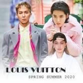 Ngô Diệc Phàm diện nguyên cây hồng phấn, Song Mino lần đầu catwalk trong show Louis Vuitton