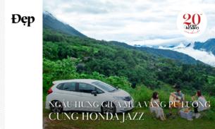 Ngẫu hứng giữa mùa vàng Pù Luông cùng Honda Jazz
