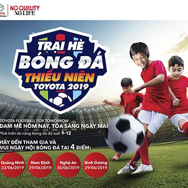 TMV khởi động trại hè bóng đá thiếu niên Toyota 2019
