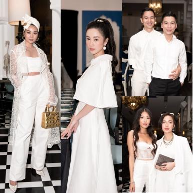 Thanh Hằng hóa thân thành quý cô miền nhiệt đới; Jun Vũ yểu điệu thục nữ tại show Pre-Fall 2019 của NTK Adrian Anh Tuấn