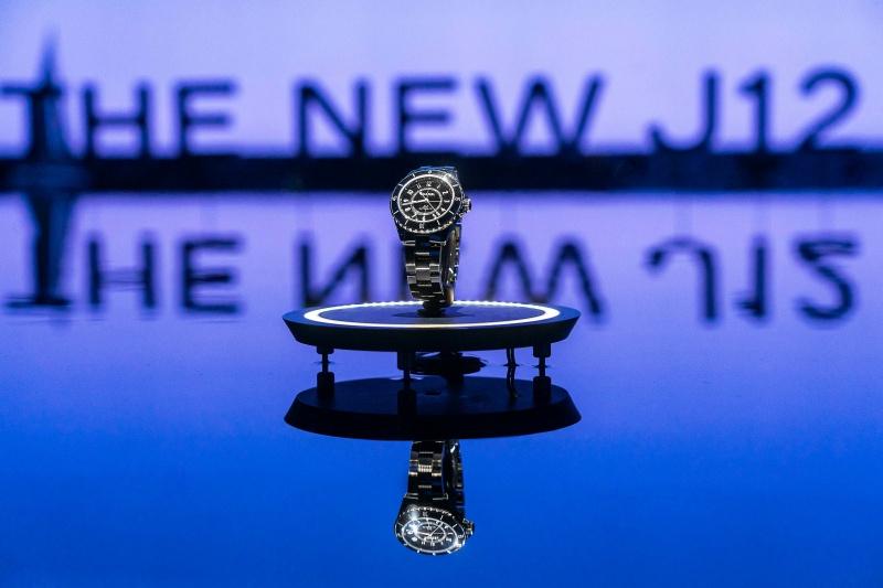 chanel, j12, đồng hồ, đài bắc, đài loan, the new j12, it's all about second