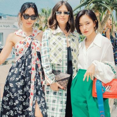 """Châu Bùi """"sang chảnh"""" bên cạnh dàn fashionista tại triển lãm Louis Vuitton"""
