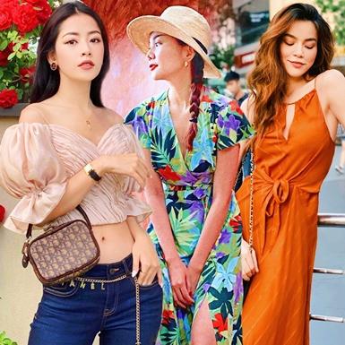 """""""Bắt bài"""" street style hạ nhiệt ngày nóng của Hồ Ngọc Hà, Chi Pu và loạt mỹ nhân Việt"""