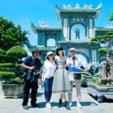 Khám phá Đà Nẵng bằng xe jeep cùng siêu mẫu quốc tế