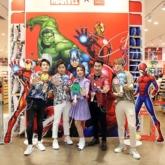 """Dàn siêu anh hùng Marvel chính thức """"đổ bộ"""" tại cửa hàng Miniso"""