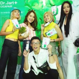 Thương hiệu mỹ phẩm nổi tiếng xứ Hàn Dr.Jart+ chính thức có flagship store tại Việt Nam