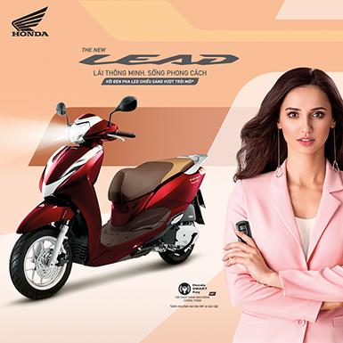 Honda Việt Nam ra mắt Lead 2019 mới với nhiều tiện ích hơn