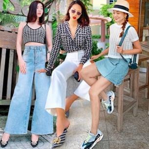 """Thanh Hằng, Lệ Quyên khoe street style """"hack tuổi"""", đọ phong cách với dàn mỹ nhân Việt"""