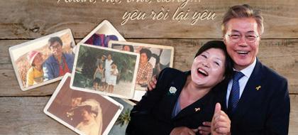 Chuyện tình Tổng thống Hàn Quốc Moon Jae In: Xuân, hạ, thu, đông… yêu rồi lại yêu