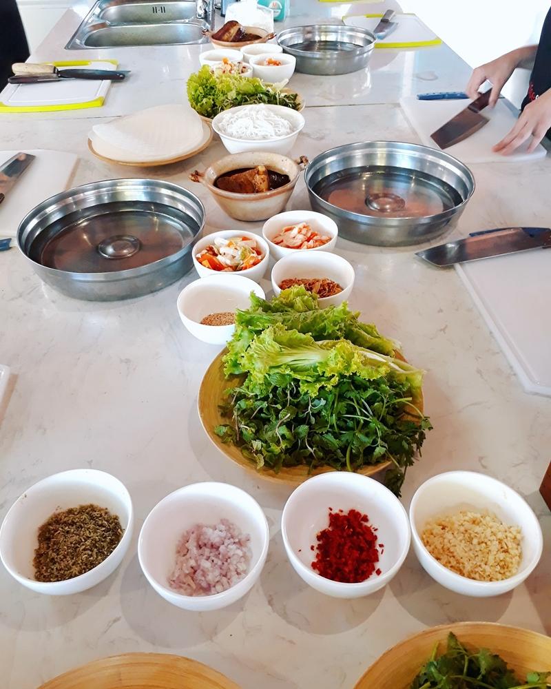 lớp hcoj nấu ăn tại Hội An