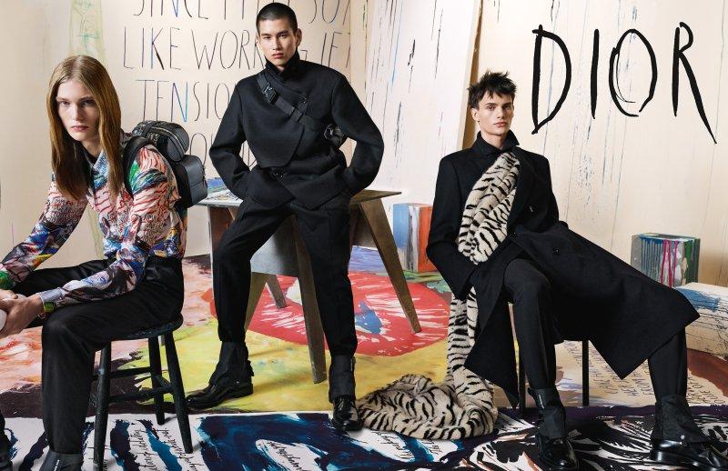dior men, christian dior, bộ sưu tập, thu đông 2019, kim jones, richard pettibon, punk