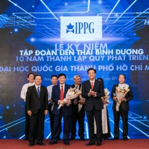 IPPG ký kết hợp tác tài trợ 10 triệu USD cho Quỹ Phát Triển Đại học Quốc Gia TP.HCM