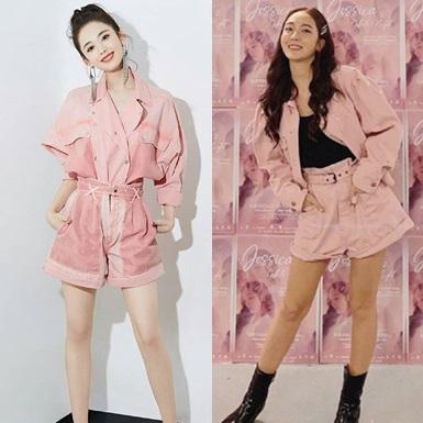 """Học hỏi mỹ nhân châu Á cách biến hóa trang phục khi """"đụng hàng"""""""