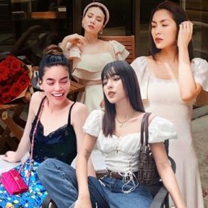 """Hà Hồ, Hà Tăng """"so găng"""" phong cách đường phố với loạt sao Việt"""