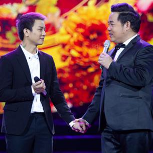 """Quang Lê song ca cùng """"ông bố hai con"""" Hoài Lâm trên sân khấu Hà Nội"""