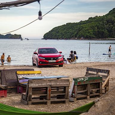 Ngao du đảo Ngọc Cát Bà với xe thể thao và SUP – tại sao không?
