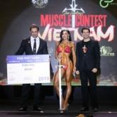 Erin Stern – Nữ hoàng của làng thể hình thế giới giành chiến thắng tại Musclecontest Việt Nam