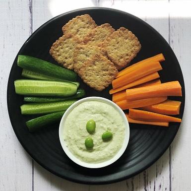 Bữa sáng dinh dưỡng, thuận tiện với sốt Hummus đậu nành