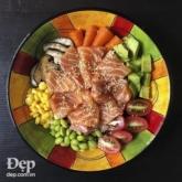 Poke cá hồi – Hương vị tuyệt vời cho những tín đồ của chủ nghĩa ăn uống lành mạnh