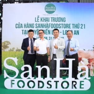 San Hà khai trương cửa hàng SanHàFoodstore thứ 21