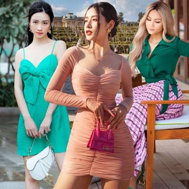 """Street style sao Việt tuần qua: Chi Pu, Đông Nhi gợi cảm hết cỡ, H'Hen Niê """"lột xác"""" bất ngờ"""