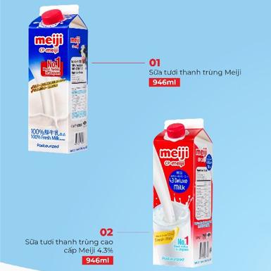 MEIJI – nhãn hiệu sữa bán chạy số 1 tại Nhật Bản đã có mặt tại Việt Nam