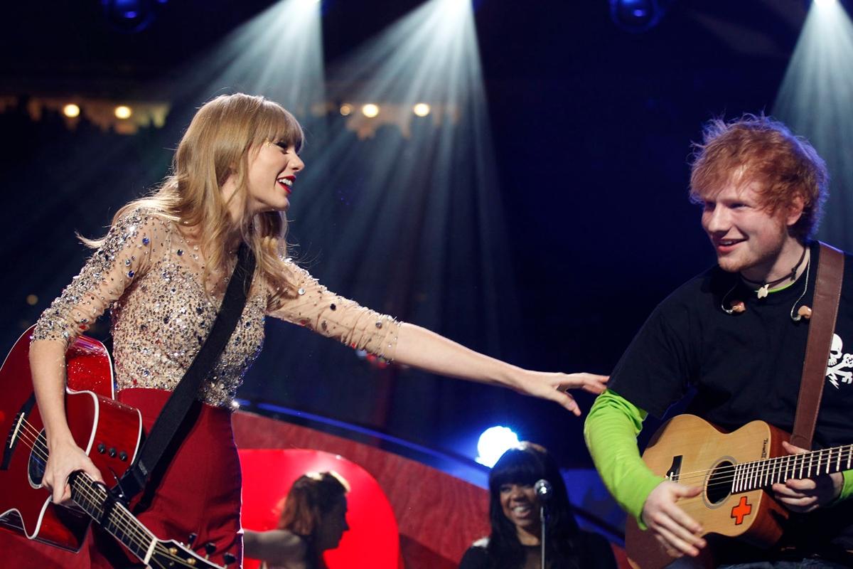 Taylor Swift va Ed Sheeran