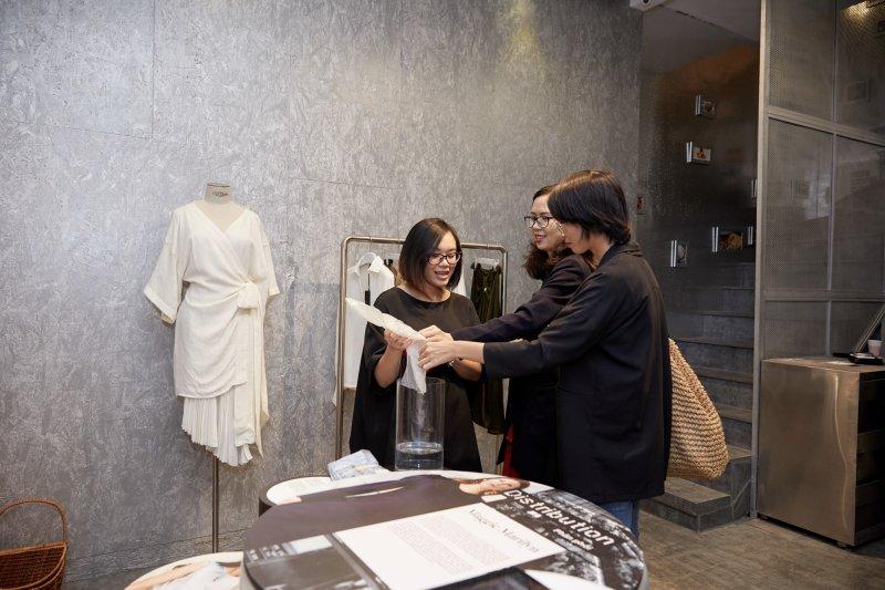 thảo nhi lê, thời trang bền vững, labels: