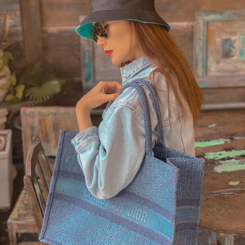 dior, book tote, túi xách, xu hướng