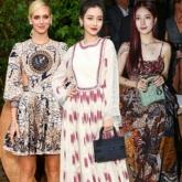 """Angelababy đẹp tựa nữ thần, """"đọ sắc"""" cùng Suzy, Chiara Ferragni tại show diễn Dior Xuân Hè 2020"""