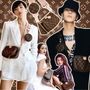 """Vừa """"lên sóng"""", siêu phẩm túi 3 trong 1 của Louis Vuitton đã khiến Châu Bùi, Decao lẫn Rihanna, Địch Lệ Nhiệt Ba và loạt fashionista mê mệt"""