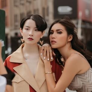"""Minh Tú: """"Tôi thấy được truyền cảm hứng bởi thông điệp nữ quyền của New York Fashion Week"""""""