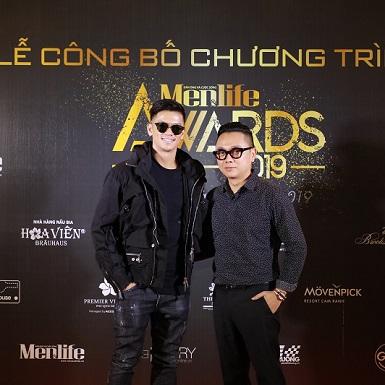 NTK Công Trí và ca sĩ Trọng Hiếu Idol hào hứng với giải thưởng mới dành cho quý ông Việt