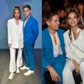 """Dylan Sprouse và """"thiên thần"""" Barbara Palvin diện đồ đôi ăn ý, thu hút mọi ánh nhìn tại Milan Fashion Week"""