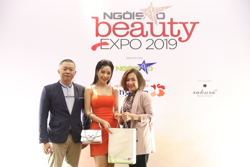 ngoi sao, beauty expo 2019, chi pu