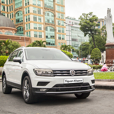 Volkswagen khuyến mãi 40 triệu đồng cho Tiguan Allspace Highline